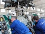 Inspection d`unité hydraulique