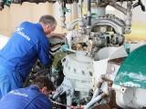 Main gear box maintenance